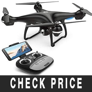 Drone With Zoom Camera